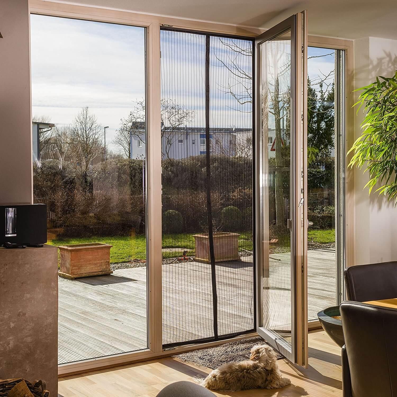 FREILUFTRAUM Moskitoschutzvorhang für Türen