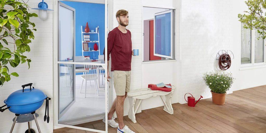 Fliegengitter Test - Türen & Fenster